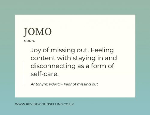JOMO – Joy of missing out